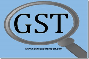 GST applicable for Railway fixtures and fittings, rolling stock parts