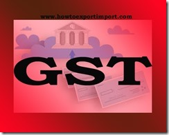 GST duty for Services of Permitting Commercial Use or Exploitation of any event