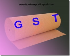 GST for Cork and Cork products