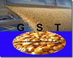 GST for Milling industry products in India