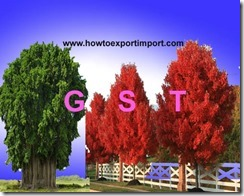 GST for sale of Live plants and trees, nurseries