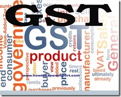 GST levied rate on Electric Braille typewriters and non-electric Braille typewriters business