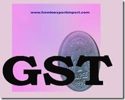 GST levied rate on Sewing machines