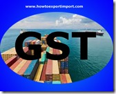 GST levied rate on Aluminium reservoirs, tanks, vats and similar containers business