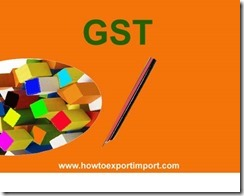 GST payable rate on Raw hides and skins of bovine animals, equine animals