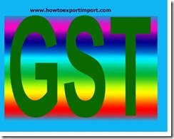 GST payable rate on sale or purchase of Yeasts and prepared baking powders