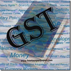 GST percentage on purchase or sale of Hard rubber and articles of Hard Rubber