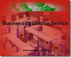GST rate for Business Exhibition Service