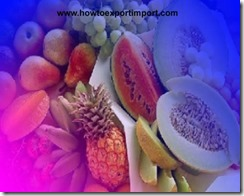 GST rate for Fruits sales and nut sales in India
