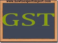 GST rate for Stock broker services