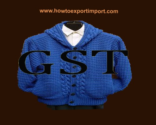 Gst rate for made up textile articles clothing and worn for Interior decoration hsn code gst