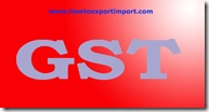 GST taxable rate on Gas meter, liquid meter or electricity supply meter or production meters