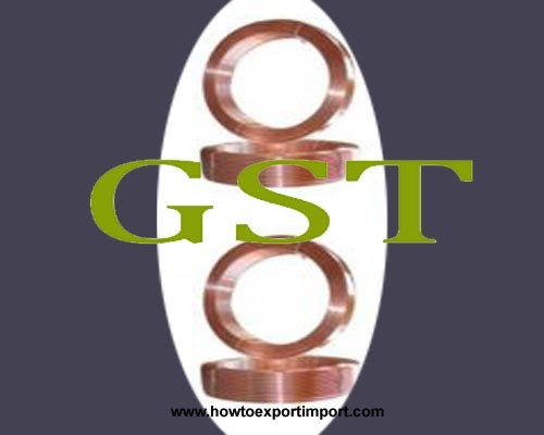 steel gst rate