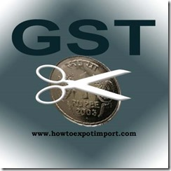 GST scheduled rate on Processed fish business