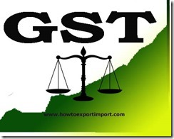 GST scheduled rate on Rubber articles of apparel and clothing accessories