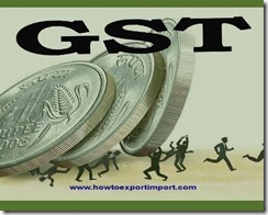 GST scheduled rate on purchase or sale of Felt