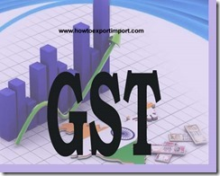 GST scheduled rate on sale or purchase of Agricultural, horticultural or forestry machinery
