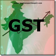 GST scheduled rate on sale or purchase of Monumental or building stone