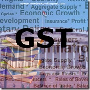 GST scheduled rate on purchase or sale of Parts and accessories for machines, appliances, instruments or apparatus.