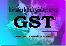GST tariff for Information Technology Software services