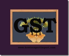 GST tariff for Transport of Coastal goods, Goods through National Waterways or Inland Waterways Services