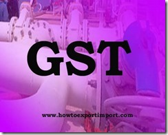 GST tariff rate for Clearing and Processing House services