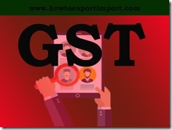 GST tariff rate for Design Services