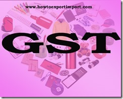 GST tariff rate for Promotion of Brand of Goods, Services