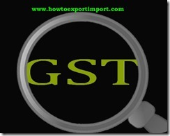 GST tariff rate for Steamer agent service