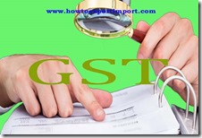 GST tariff rate for underwriters services