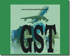 GST taxable rate on Fork-lift trucks