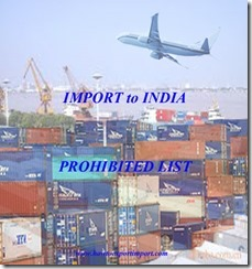 Goods not allowed by courier to export to India copy