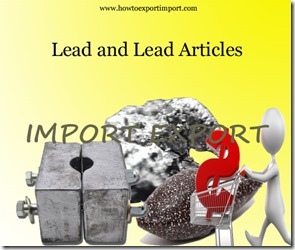 Lead and Lead Articles