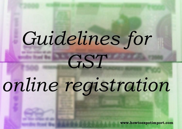 still gst provisional number not received