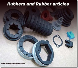Rubbers and Rubber articles