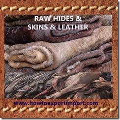 41 RAW HIDES SKINS LEATHER