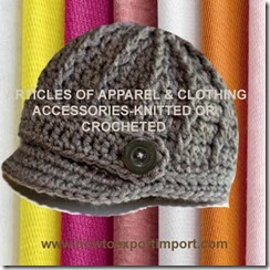 61 ARTICLES OF APPARELCLOTHING ACCESSORIES-KNITTED OR CROCHETED