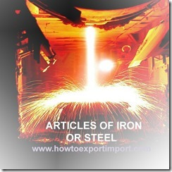 73 ARTICLES OF IRON OR STEEL