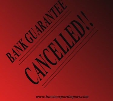 How and when to cancel bank guarantee and bond how and when to cancel bank guarantee and bond copy spiritdancerdesigns Images