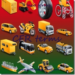 How does CFR term of delivery work in Export Import business copy