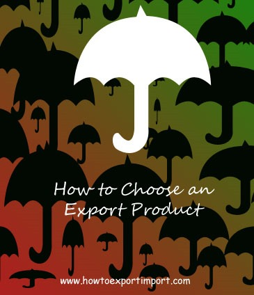 How to Choose a product for export business
