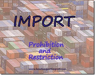 Difference between Prohibition and Restriction
