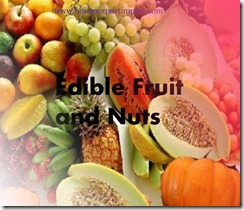 Edible Fruit and Nuts