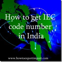 How to get IEC code in India