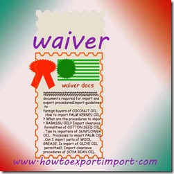 How to obtain waiver on detention  demurrage on imported goods container from Shipping company CFS copy