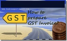 How to prepare GST tax Invoice