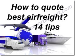 How to quote best airfreight 14 tips