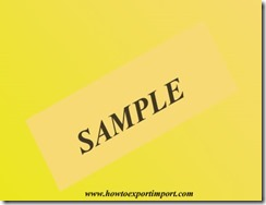 How to send export samples to foreign buyer Tips to send samples to foreign buyer copy
