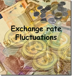 Exchange rate fluctuations in Exports copy