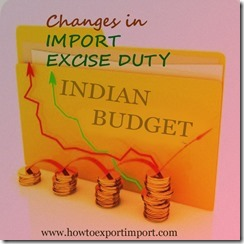 Import Excise duty diminished on wafers,Indian Budget 2015-16